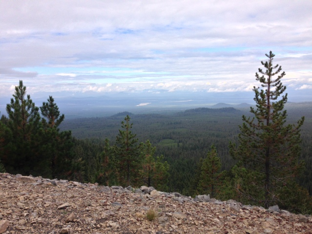 Newberry Volcanic Crater